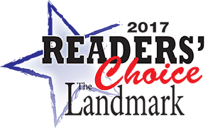 2017 Landmark Readers' Choice Award Logo