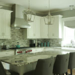 Neutral kitchen with island